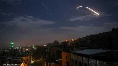 هجوم صاروخي يستهدف مواقع عسكرية في الكسوة قرب دمشق