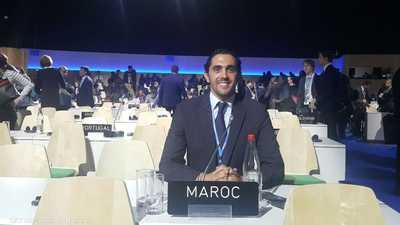 شاب مغربي ينال جائزة عالمية.. تفانى في مكافحة تغير المناخ
