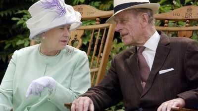"""حداد """"خاص"""" من الملكة إليزابيث على زوجها الأمير فيليب"""