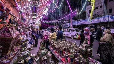 الفانوس أبرز ما يميز رمضان في مصر