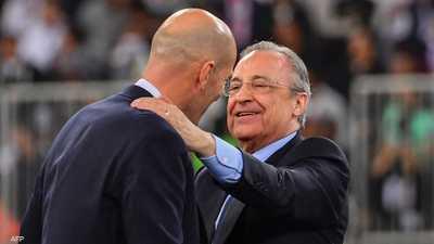 بيريز يتولى ريال مدريد لفترة سادسة