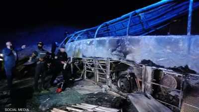 """ضحايا بحادث سير مأساوي """"كبير"""" في مصر.. """"ماتوا حرقا"""""""