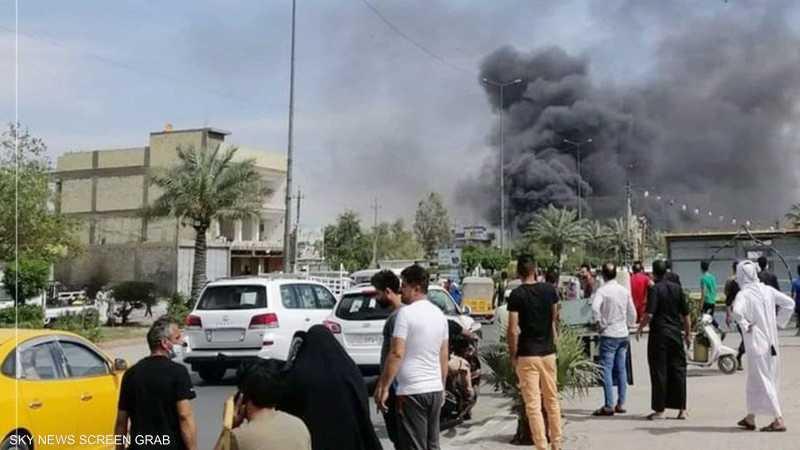 شهيد و12 مصابا في انفجار سيارة مفخخة شرقي بغداد