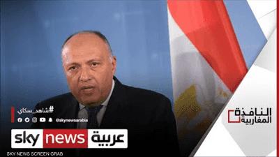 مصر تؤكد دعمها للتسوية السياسية في ليبيا