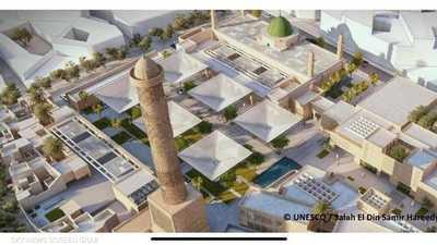 """اختيار معماريين من مصر لإعادة بناء """"مسجد النوري"""" التاريخي"""