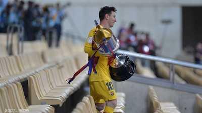 """كومان سعيد بكأس إسبانيا.. ويوجه """"رسالة"""" لميسي"""