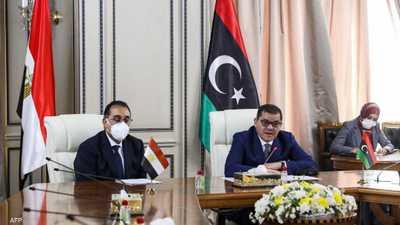 إعلان مصري ليبي مشترك بعد زيارة رئيس وزراء مصر إلى ليبيا