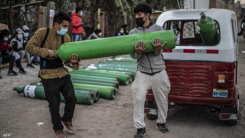 """الهند تغرق في """"جحيم كورونا"""".. و3 أسباب وراء أزمة الأكسجين   أخبار سكاي نيوز  عربية"""