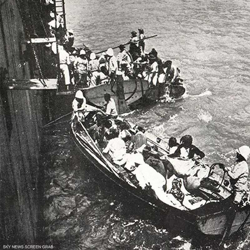 نزوح الأرمن بحرا
