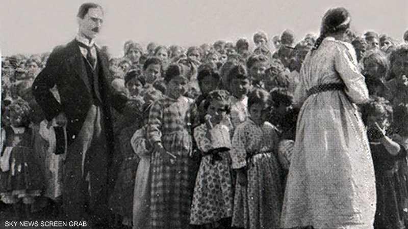 الأرمن عانوا من التشريد بعد مذبحة الأتراك العثمانيين بحقهم