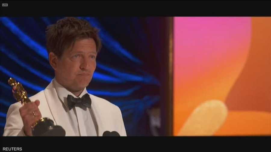 المخرج الدنماركي توماس فينتبربرغ عن فيلم أناذر راوند لأفضل فيلم أجنبي