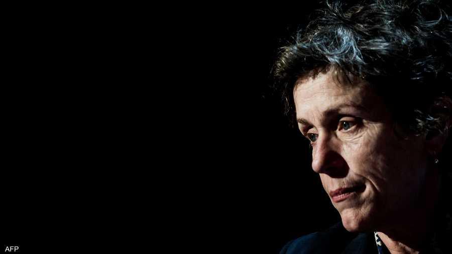 فرانسيس مكدورماند تفوز بجائزة أفضل ممثلة بالأوسكار