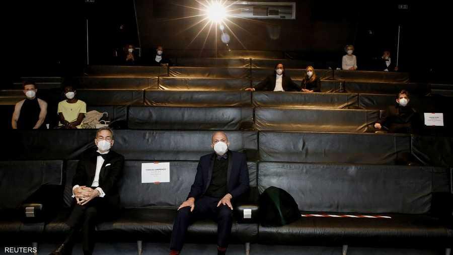 عرض لجوائز الأوسكار في العاصمة الفرنسية باريس.