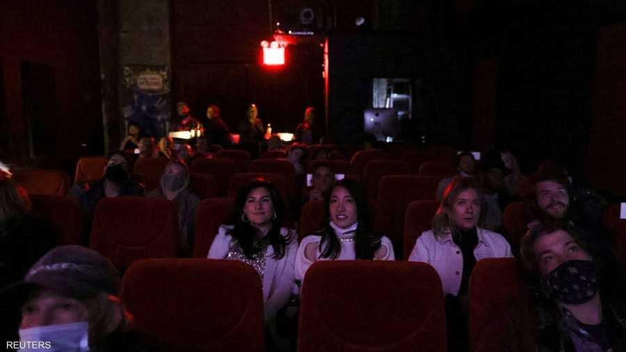 سينما في بروكلين بلوس أنجلوس عرضت وقائع حفل الأوسكار.