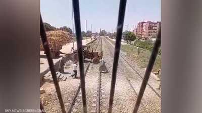 يقظة سائق قطار مصري تنقذ الركاب من كارثة جديدة