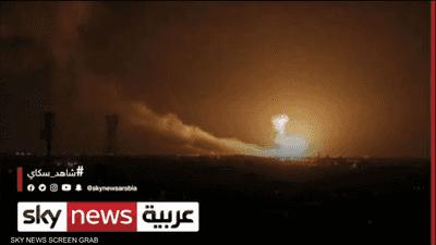 استهداف مطار بغداد بصواريخ كاتيوشا