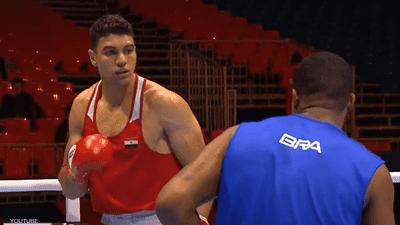 الملاكم المصري يسري رزق يتحدى أبطال العالم في طوكيو