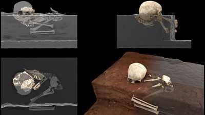 اكتشاف أقدم موقع دفن بشري في القارة السمراء