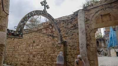 دير السلطان بالقدس الذي يتبع الكنيسة المصرية