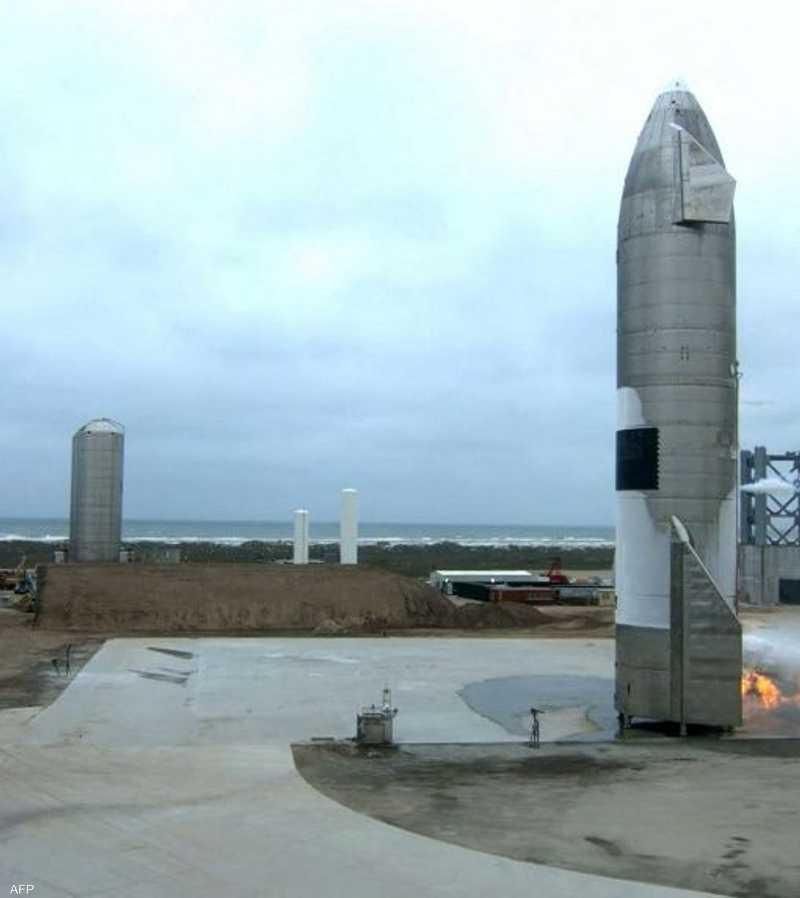 المركبة Starship Serial Number 15