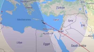 الساعات الأخيرة للصاروخ الشارد.. سيمر فوق مصر في هذا الوقت