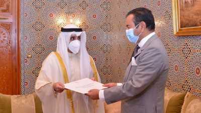رسالة خطية من أمير الكويت لملك المغرب