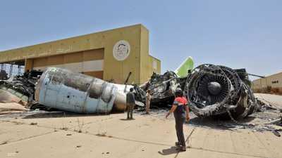 مطار طرابلس.. شاهد على جرائم الإخوان