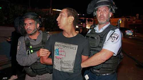 اعتقالات بالجملة في مواجهات الشيخ جراح