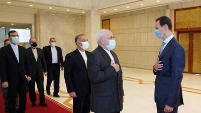 من لقاء ظريف والأسد