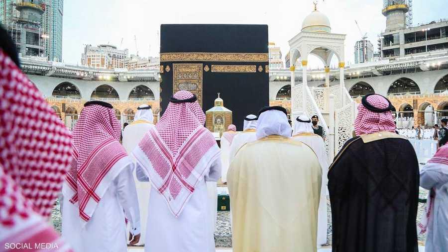 صلاة العيد في المسجد الحرام بمكة المكرمة