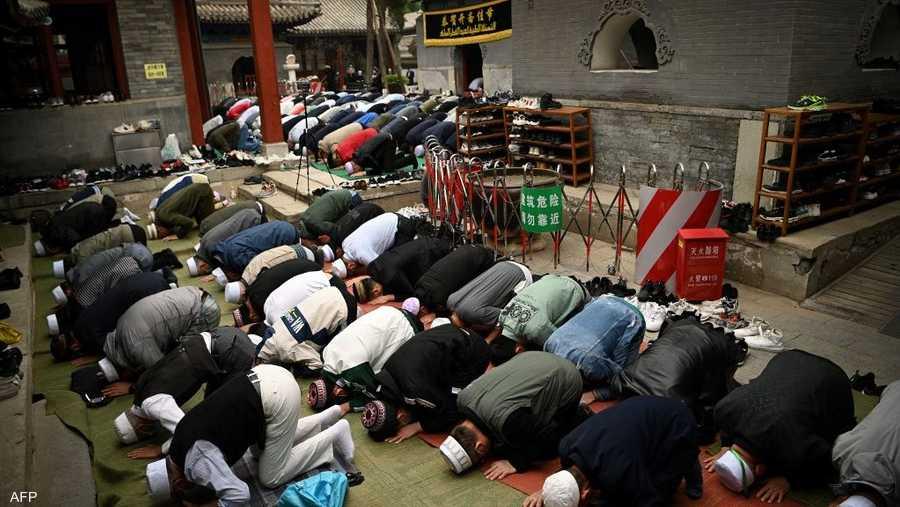 صلاة العيد في الصين