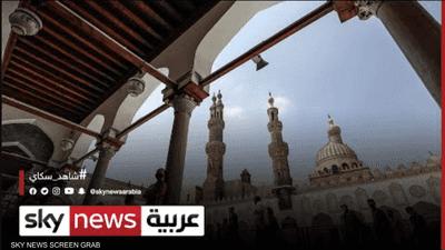 الأزهر يكتظ بالمصلين في صلاة العيد رغم إجراءات كورونا