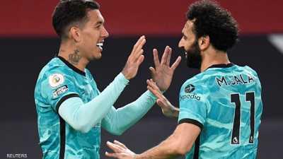 فيرمينو يقود ليفربول لفوز كبير على يونايتد في عقر داره