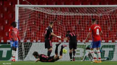 ريال مدريد يسحق غرناطة ويواصل مطاردة أتليتيكو على اللقب