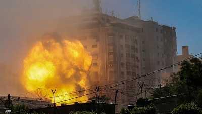 تصعيد مستمر..قصف متبادل بغزة ومحيطها ومواجهات بالضفة الغربية
