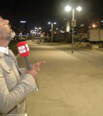 فيديو حصري.. لحظة استهداف تل أبيب بصواريخ من غزة