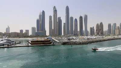 جانب من مدينة دبي.