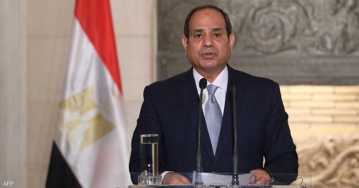 """السيسي يؤكد لبايدن تمسك مصر بـ""""اتفاق قانوني ملزم"""" بشأن سد النهضة"""