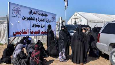 العراق.. دعوات إيزيدية لمحاكمة عوائل داعش القادمة من الهول