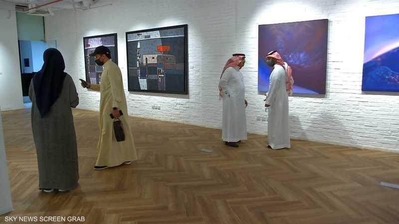السعودية.. معرض لأعمال فنانين من مختلف الأعمار والخبرات