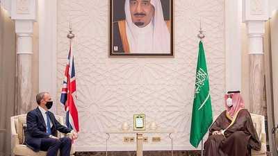 محمد بن سلمان ووزير خارجية بريطانيا يبحثان استقرار المنطقة
