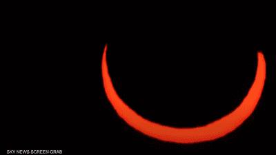 بالفيديو.. ناسا ترصد الكسوف الحلقي للشمس