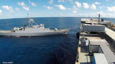 سفينتان حربيتان إيرانيتان في المحيط الأطلسي.. وواشنطن تراقب