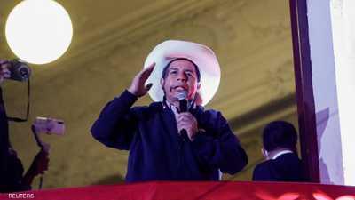 اليساري بيدرو كاستيلو يتأهب لإعلانه رئيسا لبيرو