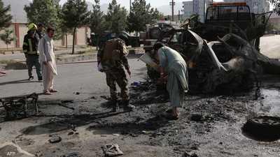 قتلى وجرحى في تفجيرين استهدفا حافلتين في كابول