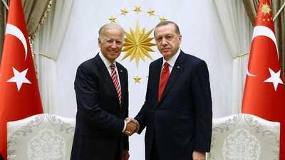 سوريا وليبيا وإيران على طاولة البحث بين بايدن وأردوغان