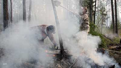 حرائق غابات في سيبيريا تلتهم مئات الكيلومترات