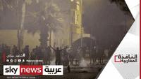 اشتباكات بين المتظاهرين وقوات الأمن في تونس