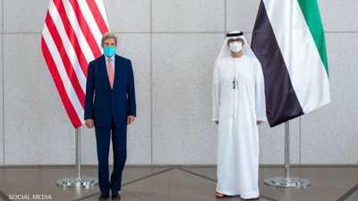 مباحثات بين مبعوث الإمارات للتغير المناخي ونظيره الأميركي