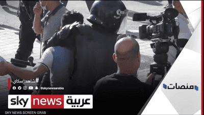 اشتعال شوارع تونس بالاشتباكات بين الشرطة والمتظاهرين